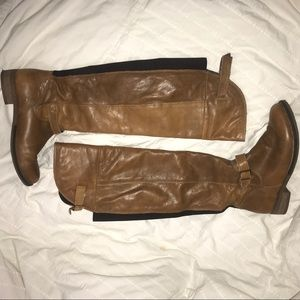 Also Women's leather riding boots
